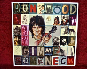 RON WOOD - Gimme Some Neck - 1979 Vintage Vinyl Record Album