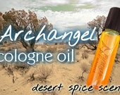 "Desert Spice Cologne - ""Archangel"" Roll-on Fragrance - Inspired by Garrus of Mass Effect 3"