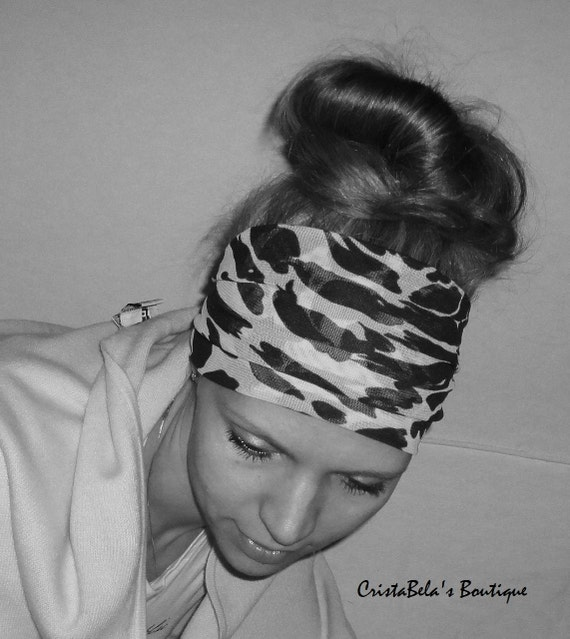 SALE Wide Stretchy Fashion all day comfort woman's  Headband hair band  turban head wrap...