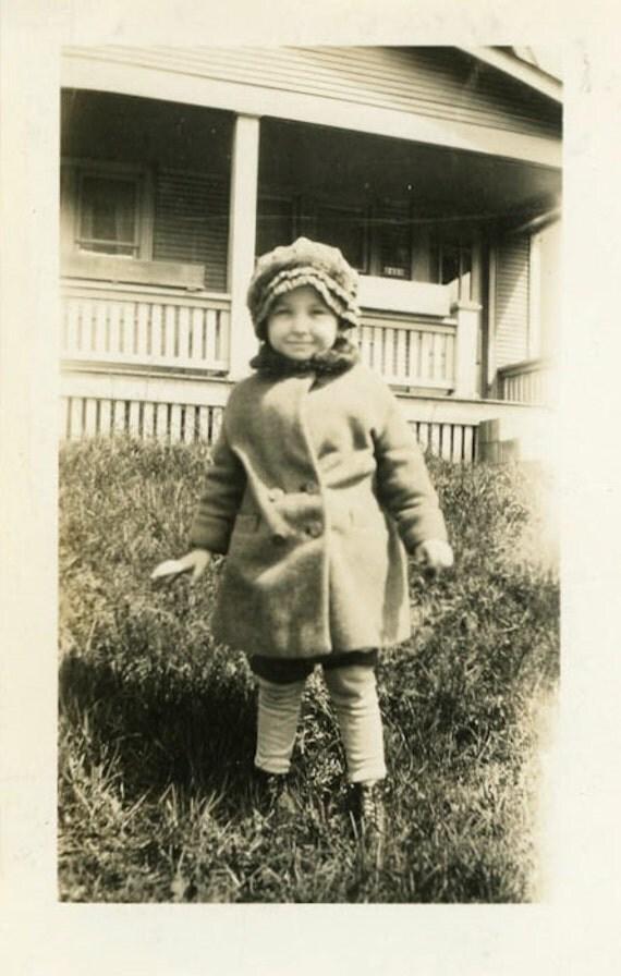 "Vintage Photo ""Cutie Pie"", Photography, Paper Ephemera, Antique, Snapshot, Old Photo, Collectibles - 0016"