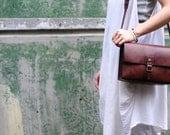Artemis Leatherware Hand Stitched Leather  Camera Bag/ Shoulder Bag (reserved for Corinne)