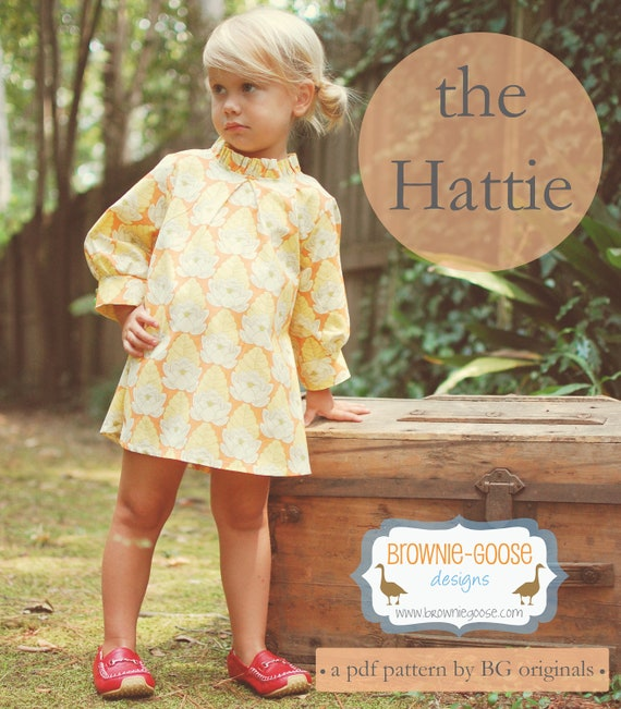 BG Originals The Hattie pdf pattern (dress or tunic)