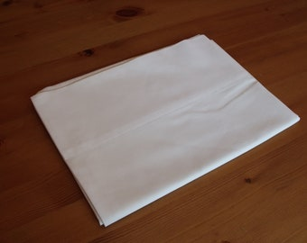 Sale  Pacific one standard pillowcase, sham,21x30.5 in. vintage ,white,50 cotton/50 polyester Dorm