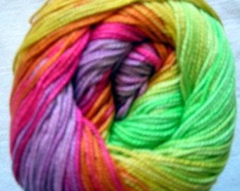 Alize Miss Batik. 100% Mercerised Cotton. Color 3715 DSH(P13)