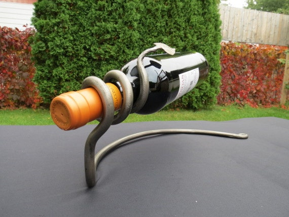 WINE RACK Hand Forged by BLACKSMITH