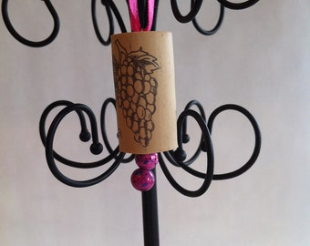 Pink  Cork Ornament