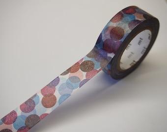 MT SPOT BLUE Washi Tape (10M)