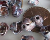 Distressed  Shabby Chic  Vintage  Metal  Flowers