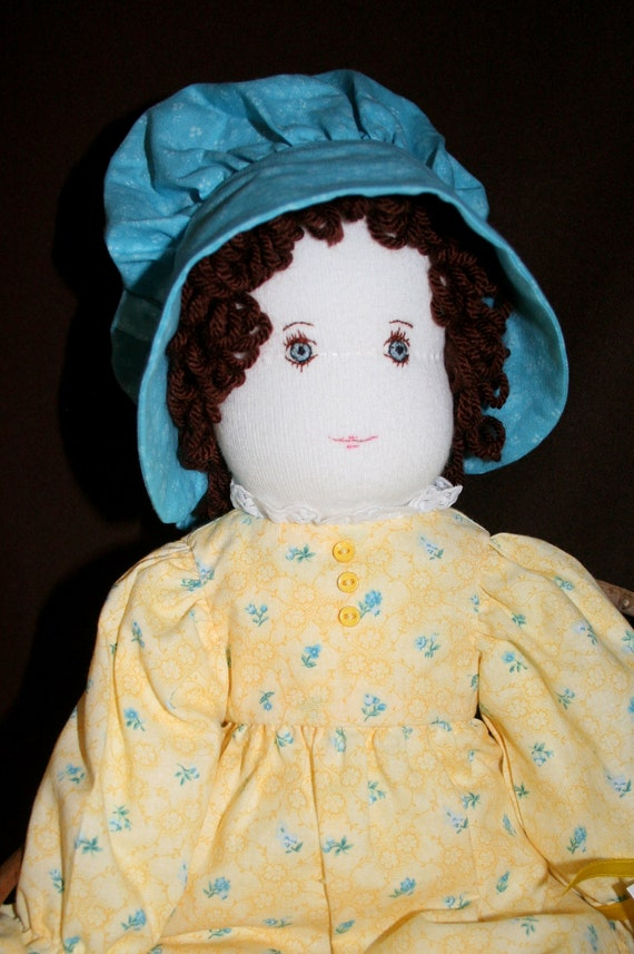 COLLEEN Holly Hobbie Style Prairie Doll with 2 Outfits