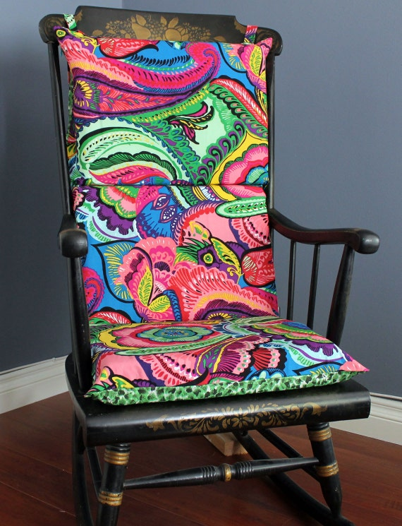 On Sale Rocking Chair Cushion Jungle Fever