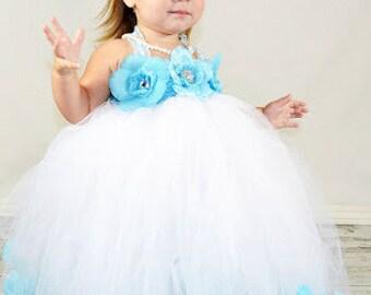 Flower Girl Dress Rose Petal Tutu Dress Rose Petal Dress Tutu Dress Flower Girl Tutu Dresses