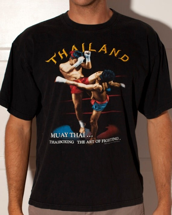 THAILAND Muay Thai Fighting Tshirt