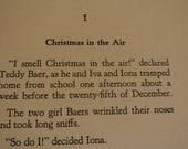 Vintage Christmas Book - The Baers' Christmas