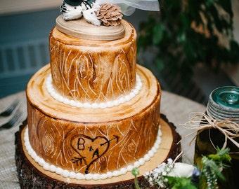 Hedgehog cake topper-Porcupine wedding cake topper-rustic wedding cake topper-rustic wedding-country western wedding