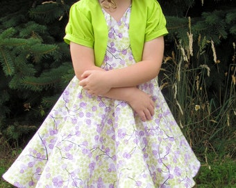 Outfit Bundle: Donna Dress 12M-12Y and Little Misssy Bolero 12M- 8Y PDF Pattern and Instructions - Value Pack