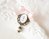 Personalized brooch - Wedding  brooch - Cameo brooch - Gift for her - Sale