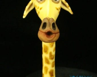 Melman the Giraffe Cake Topper From Madagascar