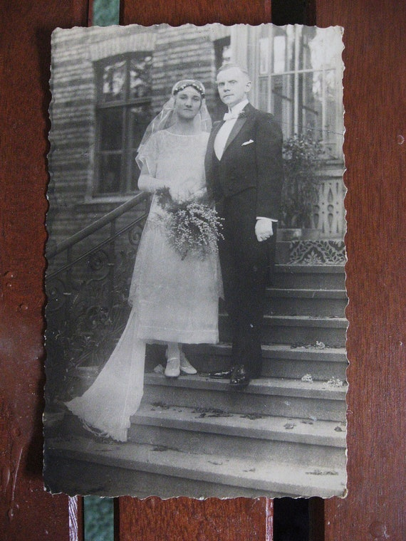 Daisy and Gadsby. . . . Vintage 1920s Snapshot