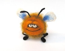 Felt doll - Needle felting - Felt toys - Figurines - Handmade toys - Eco friendly - Personalised gifts - Gifts for her - gifts for men