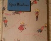 SALE- 50's children's story book- Open Windows