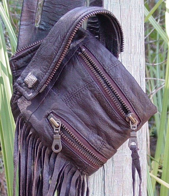 Eco-Warrior Small Items Pouch (ID,money,cc) Re-Purposed Construction Tool-Drill Holster, Slashed 50 percent to 40 Inventory Reduction Sale