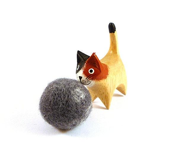 Pluto Planet Wool Catnip Cat Toy
