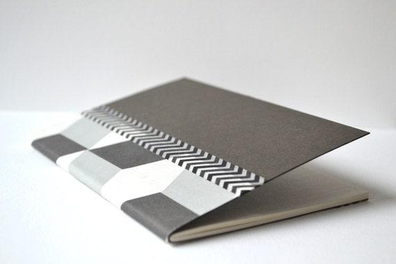 """Small Note Book """"Black & White"""""""