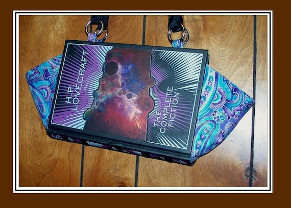 H.P. Lovecraft - The Complete Fiction - Leather bound Book Purse