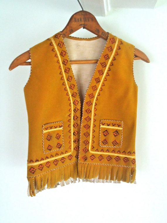 Indian Native American Vest Halloween Costume By
