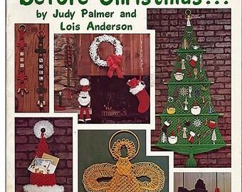 Twas the Knot Before Christmas...  Macrame Pattern Book Pat Depke, Inc. PD-1051