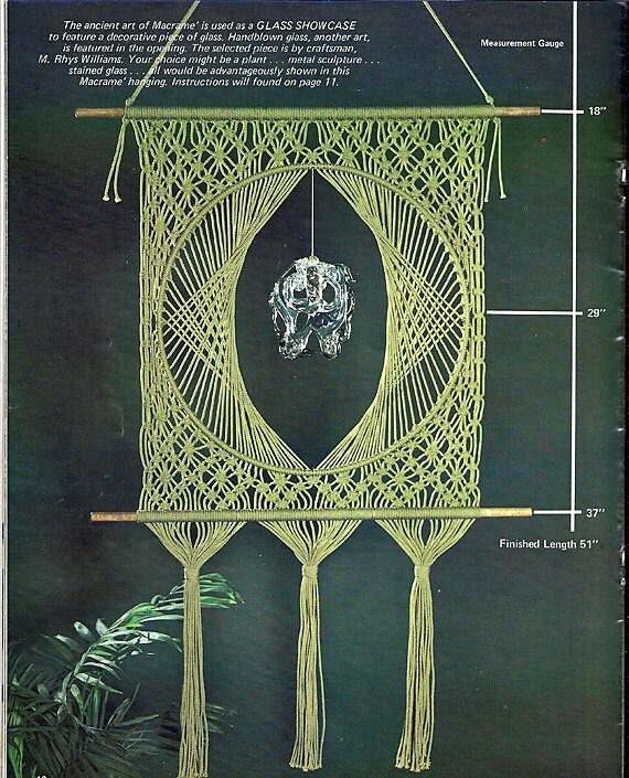 Delightful  Macrame  Pattern Book HH-37
