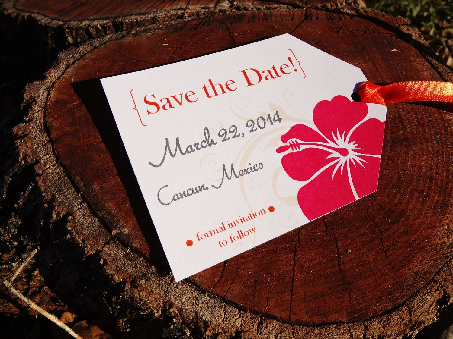 Cleverly Designed Save the Date Invites - BBM