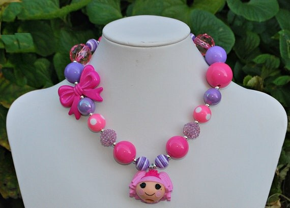 Lalaloopsy Chunky Necklace Children's Jewelry
