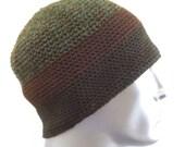 Crochet Beanie, Organic Cotton, Unisex, Fall Winter AccessoryFathers Day