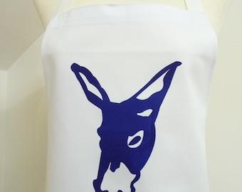 Blue Donkey Apron
