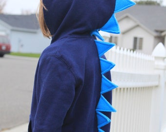 Toddler & Infant Dinosaur Dragon Monster Spike Hoodie Gift Idea Costume Dress-up trendy kid christmas gift idea