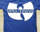 Wu Tang Clan Rap Hip Hop T-Shirt All Sizes Adult ROYAL