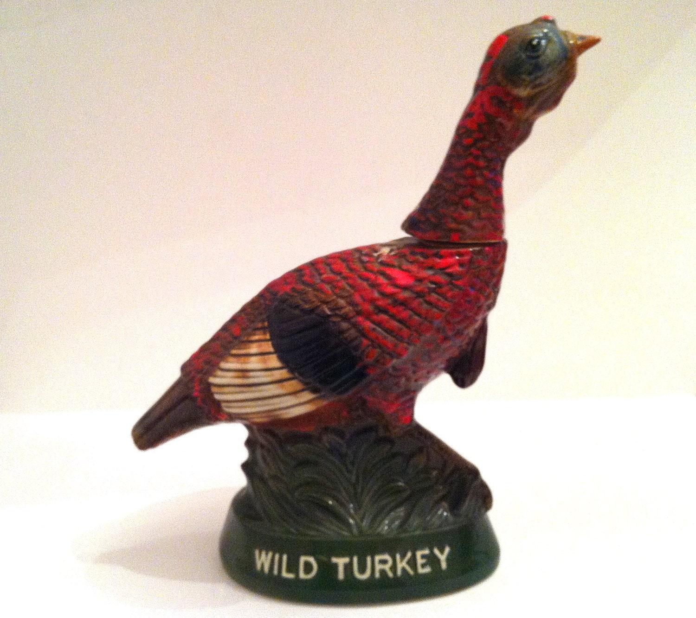 Wild Turkey Decanter Number 6 1976 By Exquisitexchange On Etsy
