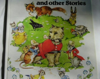Vintage Childrens Book - Town Mouse and Country Mouse and other Stories Illustrated by Rene Cloke 1983