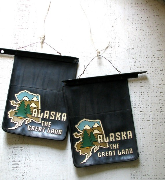 Outdoor Man Cave Gifts : Items similar to vintage mud flaps gift for him
