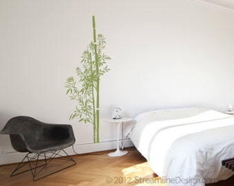 Bamboo Wall Decal Etsy - Vinyl wall decals removable