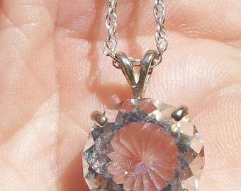 Quartz Crystal Gemstone necklace