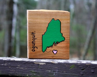 Any State - Unique Art Gift- Personalized City and State Art - Rustic Wood Custom Nursery art - Personalized Wedding Gift