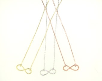 Simple Infinity Necklace