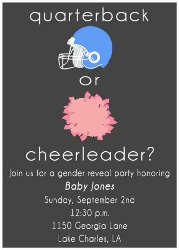 Gender Reveal Invitation Template as good invitations design