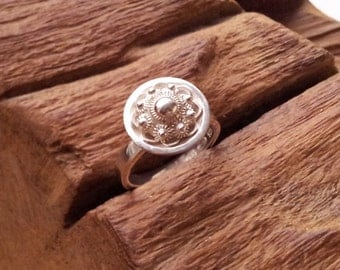 Traditional Dutch Zeeuwse knoop ring modern - sterling silver 925, the netherlands, holland, zeeland, zeeuws