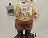 Christmas Decoration Workshop Santa w/ Birdhouse- 10% Rescue Donation
