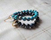 RESERVED for celinec84 / Double Bracelet Set