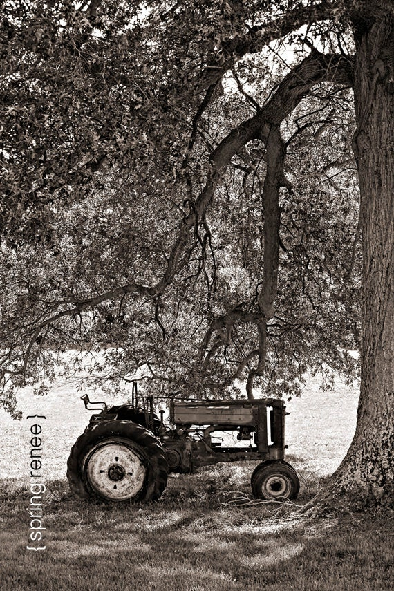 John Deere Home Decor : Items similar to home decor john deere tractor fine art