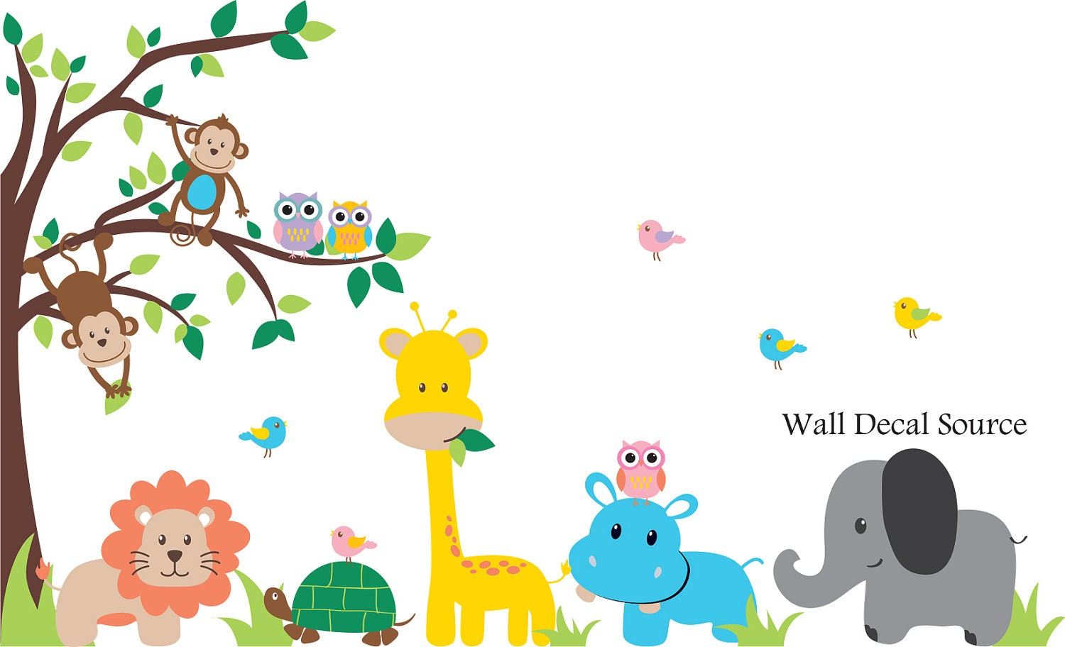 28 jungle wall stickers for nursery childrens born free jungle wall stickers for nursery jungle tree wall decal nursery vinyl wall decal kids wall